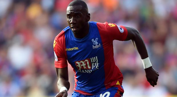 Yannick Bolasie has signed a five-year deal with Everton
