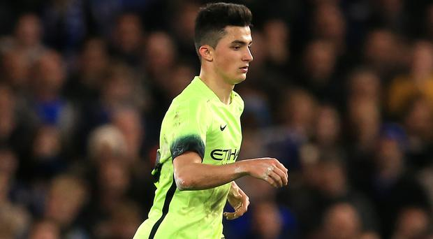 Manchester City's Manu Garcia has joined Alaves on loan