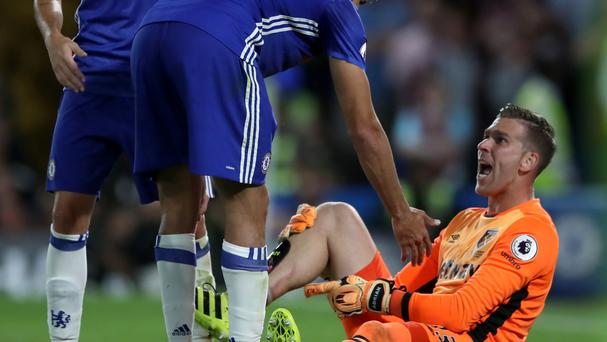 Adrian has hit out at Diego Costa for his unpunished late tackle on the West Ham goalkeeper.