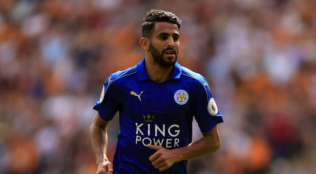 Riyad Mahrez scored in Leicester's 2-1 opening day Premier League defeat at Hull