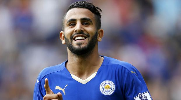 Riyad Mahrez has agreed to stay at Leicester until 2020 by signing a new deal on Wednesday