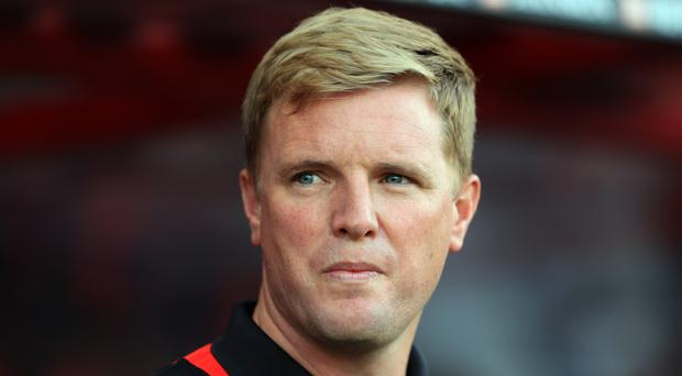 Eddie Howe is happy with his squad