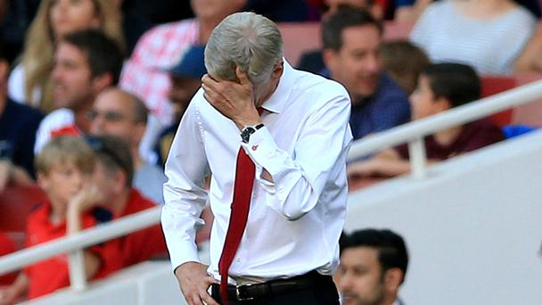 Arsene Wenger saw his Arsenal side lose 4-3 at home to Liverpool in their Premier League opener on Sunday