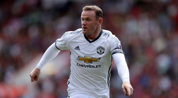 Wayne Rooney and his Manchester United team-mates are set to play Southampton under the Friday night lights