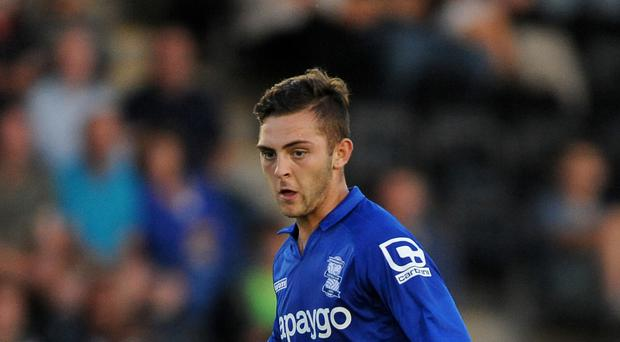 Charlee Adams is on the verge of joining Kilmarnock on loan from Birmingham City