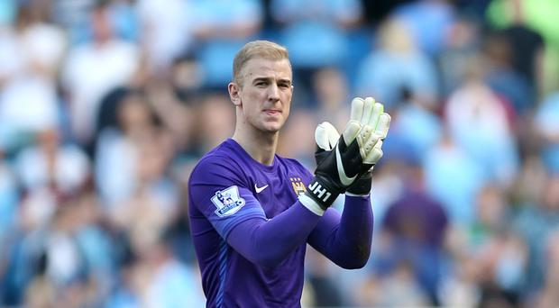 Pep Guardiola says he will not force Joe Hart, pictured, to stay at Manchester City