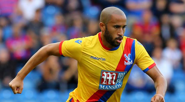 Former Tottenham winger Andros Townsend joined Crystal Palace last month