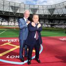 West Ham co-chairman David Sullivan, pictured right, has undergone minor heart surgery