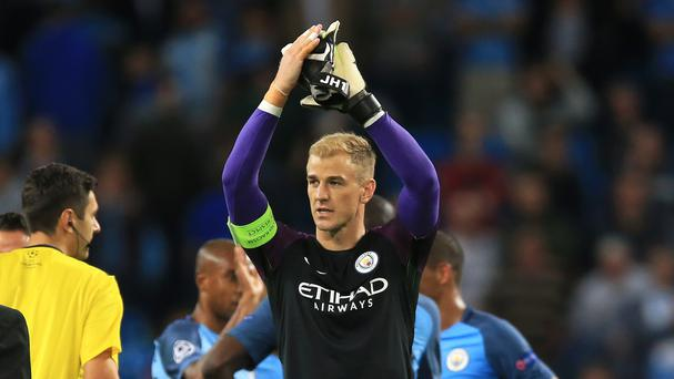 Joe Hart is expected to leave Manchester City.