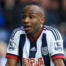 Saido Berahino's contract with West Brom runs until the end of this season