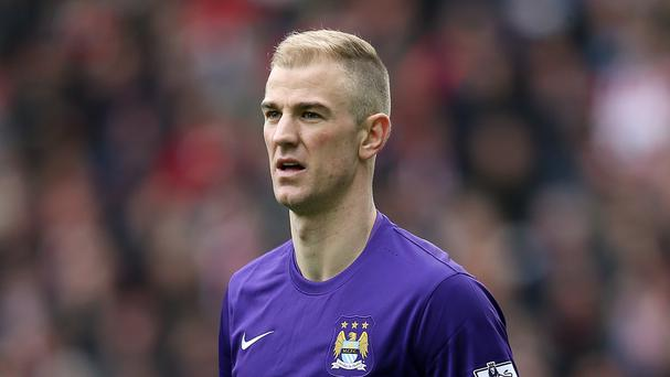 Bravo's arrival leaves Hart with five days to find a new club or be left stewing in City's reserves. Photo: PA News