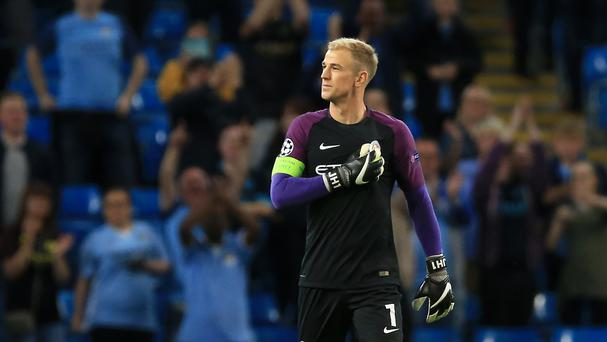 Manchester City goalkeeper Joe Hart could try and force a move to Liverpool through