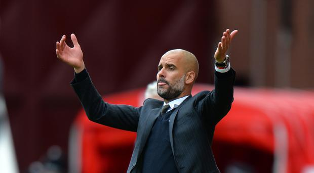 Pep Guardiola is one of a number of people at Manchester City with Barcelona connections