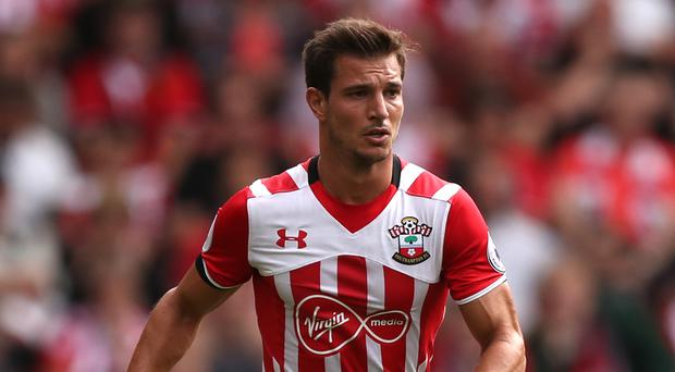 Cedric Soares is ken for a first win of the season against Sunderland