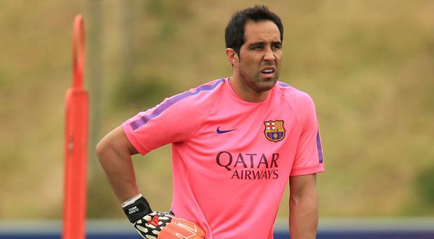 Claudio Bravo will have to wait for his Manchester City debut
