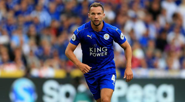 Leicester's Danny Drinkwater broke into the England squad last season