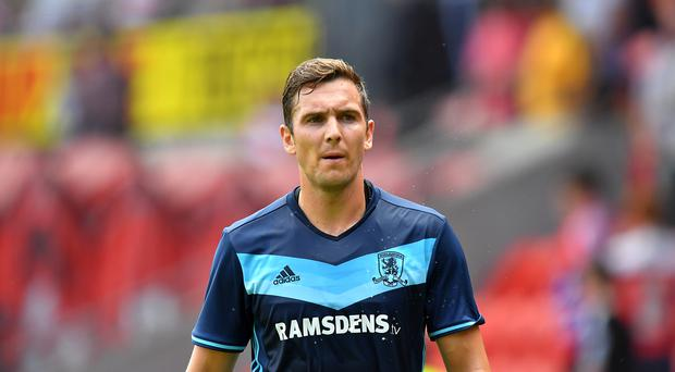 Middlesbrough's Stewart Downing is back at home in the Premier League