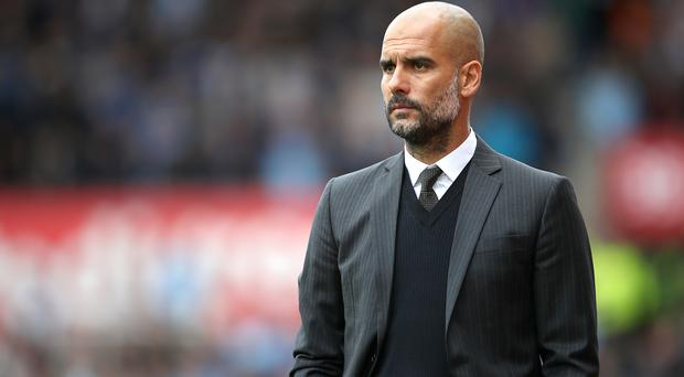 Pep Guardiola's Manchester City face West Ham this weekend