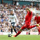 Liverpool's James Milner scored from the spot against Tottenham