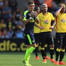 Mesut Ozil and Arsenal were too good for Watford