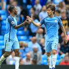 David Silva and Raheem Sterling are enjoying playing under the new regime