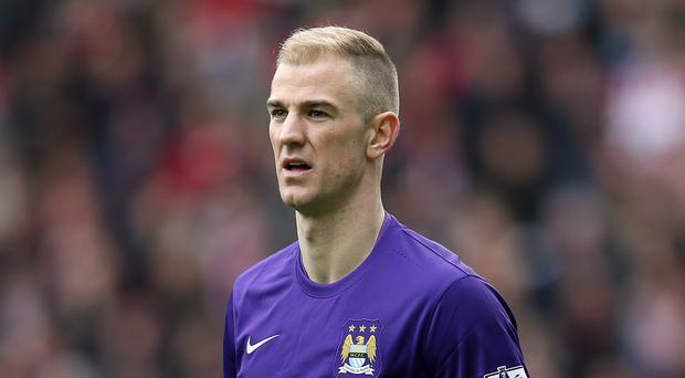 Joe Hart has been granted special dispensation by the England manager. Photo: PA