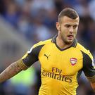 Jack Wilshere has only made two substitute appearances for Arsenal this season