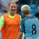 Joe Hart and Samir Nasri could be leaving Manchester City