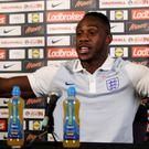 Michail Antonio will be hoping to make his England debut against Slovakia on Sunday