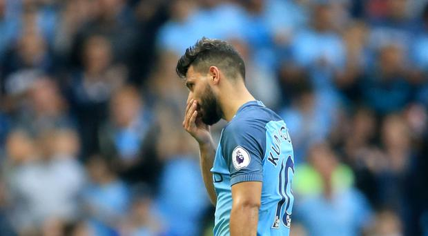 Sergio Aguero faces a Football Association disciplinary charge