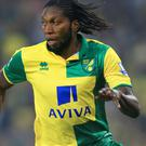 Dieumerci Mbokani has joined Hull on loan.