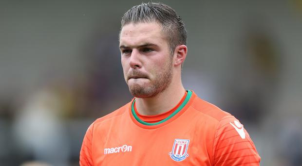 Stoke goalkeeper Jack Butland needs ankle surgery