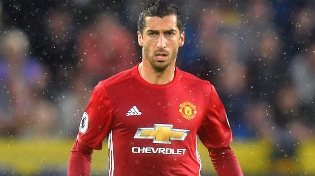 Henrikh Mkhitaryan could miss the Manchester derby