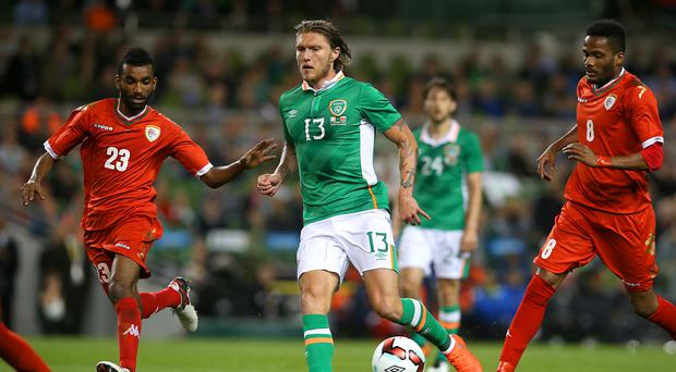 Republic of Ireland waiting for update on Jeff Hendrick's hoop
