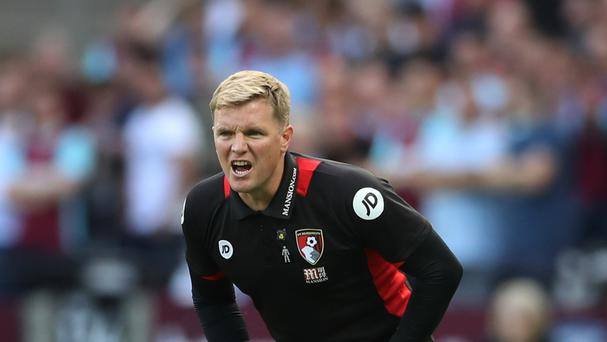 Eddie Howe is being eyed up by Arsenal