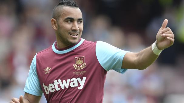 Dimitri Payet is fit after a thigh injury and set to start against Watford