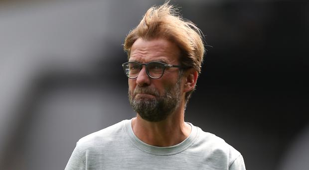 Liverpool manager Jurgen Klopp, pictured, has no issues with Mamadou Sakho fighting for a place at Anfield