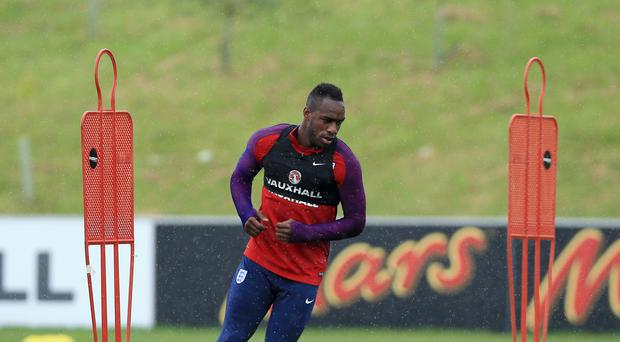 Michail Antonio, pictured, was a surprise inclusion in Sam Allardyce's first England squad