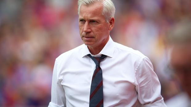 Crystal Palace manager Alan Pardew, pictured, could hand new signing Jonathan Benteke his debut at Middlesbrough