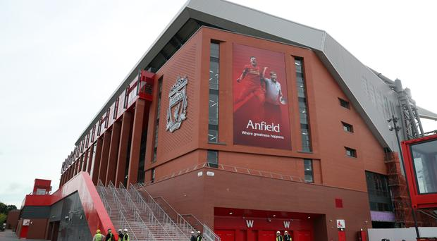 Anfield's new Main Stand has been opened