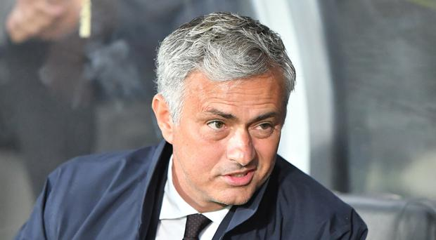 Jose Mourinho, pictured, will take on old foe Pep Guardiola in Saturday's Manchester derby