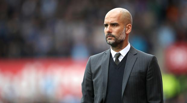 Pep Guardiola, pictured, rejected suggestions his rivalry with Jose Mourinho was one of sport's greatest
