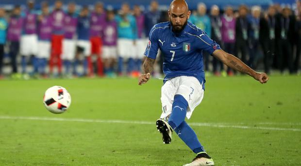 Simone Zaza skied his penalty for Italy in the Euro 2016 shoot-out against Germany