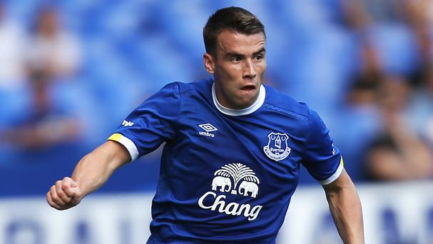 Seamus Coleman, pictured, was a bargain buy for then Everton manager David Moyes