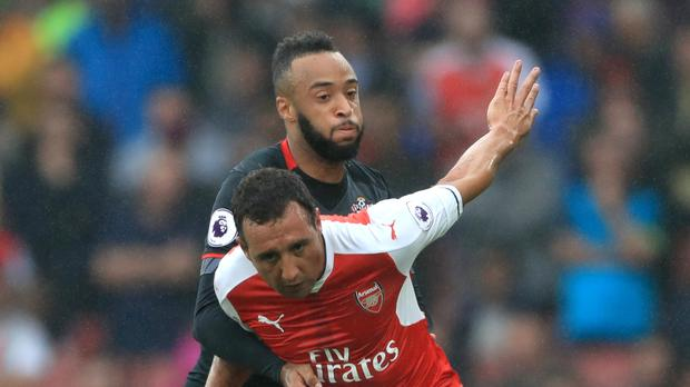 Santi Cazorla's late penalty gave Arsenal victory over Southampton