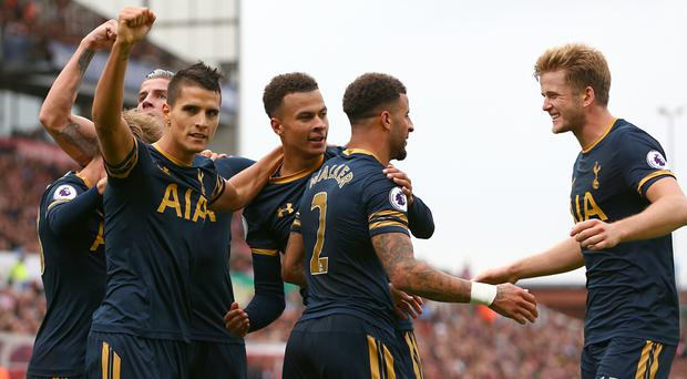 Tottenham enjoyed a fine afternoon at Stoke