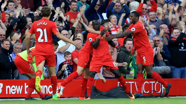 Liverpool had much to celebrate on Saturday