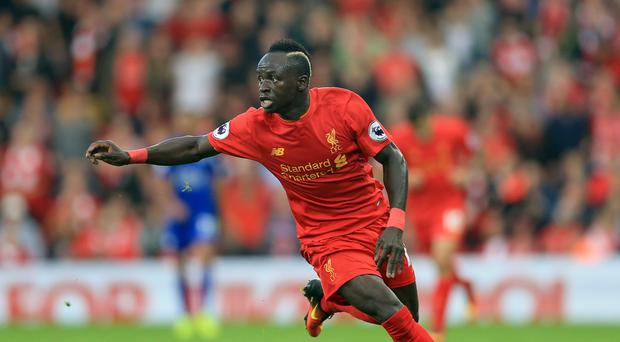Liverpool's Sadio Mane impressed in the thumping win over Leicester