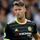 Gary Cahill: Marked man Photos: Reuters