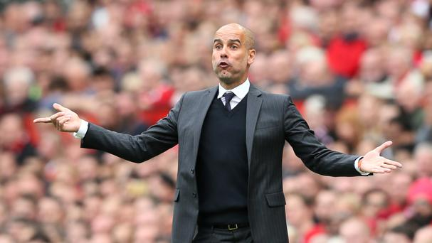 Manchester City manager Pep Guardiola is expecting improvement from his side